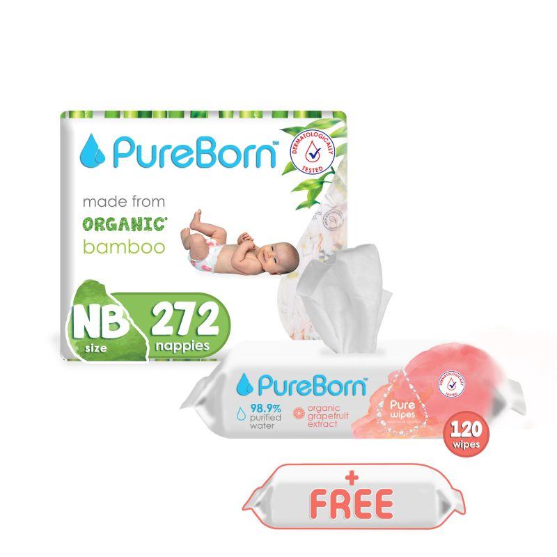 FREE Item Bundle (8 Single Pack + 2 Grapefruit Wipes + 1 Free Wipes)-NB