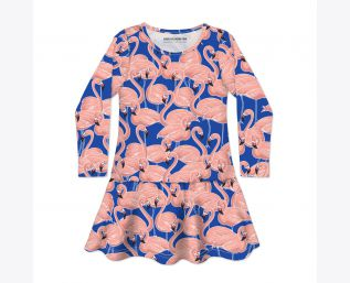 ARUBA ARUBA LONG SLEEVE DRESS 1.5-2Y