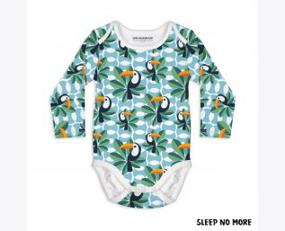 IF I CAN TOUCAN TOO LONG SLEEVE BODYSUIT NEWBORN