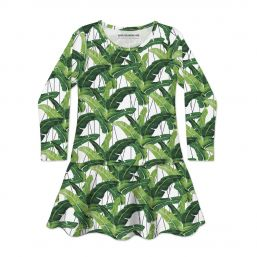I NEED A VACATION LONG SLEEVE DRESS 2-4Y