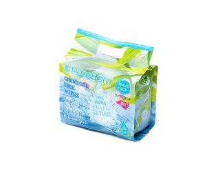 Natural Baby Wipes - Travel pack - 8packs x 10pcs